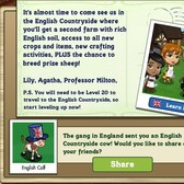 FarmVille English Countryside: Mail delivery offers free English Calf