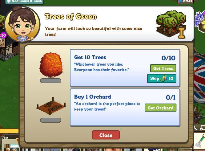 farmville english countryside trees of green