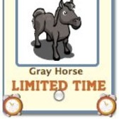 FarmVille: Gray Horse available as free gift for a limited time