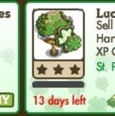 FarmVille St. Patrick's Day Trees: Lucky Cookies Tree & Giant Lucky Cookies Tree