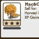 FarmVille: Mac & Cheese Tree and Gian