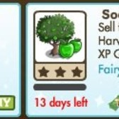 FarmVille Fairy Tale Trees: Sour Apple Tree & Giant Sour Apple Tree