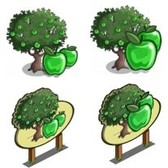 FarmVille Sneak Peek: Sour Apple Tree & Giant Sour Apple Tree