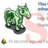 FarmVille Scam Alert! Watch out for Clover Foal News Feed posts
