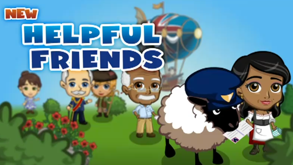 FarmVille English Countryside Characters