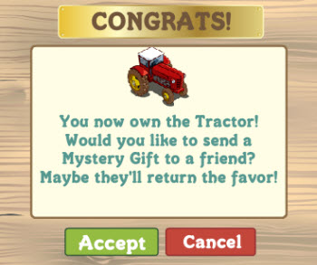 FarmVille English Countryside Mystery Gift