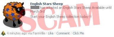 English Sheep Scam