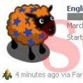 FarmVille Scam Alert! Avoid English Stars Sheep News Feed posts