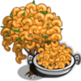 FarmVille Mac & Cheese Tree includes full Mastery, still cheesy