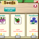 FarmVille English Countryside crops appear in FarmVille iOS Market