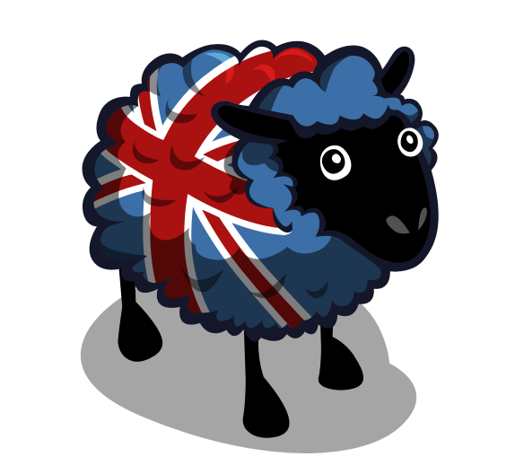Sheep UK Flag