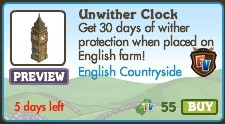 Unwither Clock