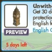 FarmVille English Countryside Unwither Clock: Don't be fooled