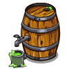 Keg of Green Beer