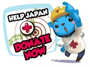 Playfish help Japan