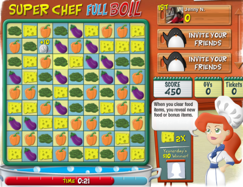 Gamesville puzzler 'Super Chef Full Boil' offers cash and ...