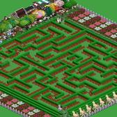 FarmVille Pic of the Day: Kathy's mysterious hedge maze