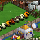 FarmVille Bug Report: Color changing sheep suffer problems; high pattern inheritance was a