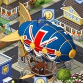 CityVille: Duke's Airship drops off Goods in FarmVille promotion