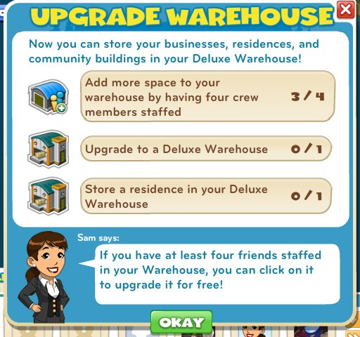 Deluxe Warehouse Upgrade