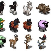 FarmVille Animal Sneak Peek: Black Shire Horse, Mountain Goat, Robin Hood Duck & More