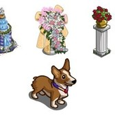 FarmVille Sneak Peek: Royal Wedding decorations and Corgi puppy