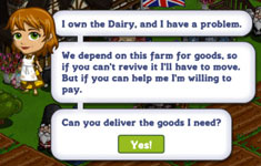 farmville english countryside dairy farm goals cheats