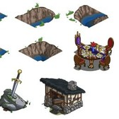 FarmVille Sneak Peek: Royal Table, Sword in the Stone, Moat pieces & More
