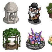 FarmVille English Countryside Sneak Peek: Garden Cascade, Gentleman Gnome, English Treehouse & much more