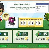 FarmVille: Free Gumball Sheep with Farm Cash purchase for a limi