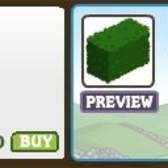 FarmVille Mini Hedges allow for decorating on a smaller scale