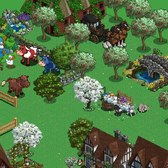 FarmVille Model Farm updated with English Countryside items