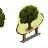 FarmVille Trees Sneak Peek: Oak Tree & Yew Tree