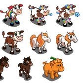 FarmVille Animal Sneak Peek: Rainbow Cow, Flowery Cow, Zesty Pony and much more