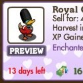 FarmVille Enchanted Love Animals: Royal Horse &amp; Royal Guard Duck