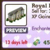 FarmVille Enchanted Love Decorations: Royal Palace, Wedding Swing, Rose Petals & More