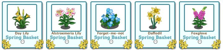 spring basket free gifts flowers