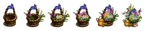 farmville spring basket progression