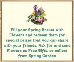 farmville spring basket
