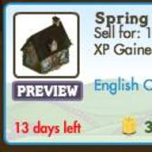 FarmVille English Countryside Decorations: Spring Cottage, Bluebells Knoll & More