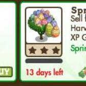 FarmVille Easter Trees: Spring Egg Tree & Giant Spring Egg Tree