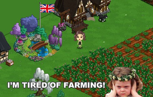 farmville tired