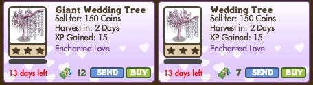 farmville wedding tree Farmville: Wedding & Giant Wedding Tree Released