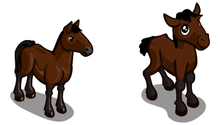Farmville Sneak Peek Cleveland Bay Horse Juniper