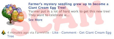 Giant Cream Egg Scam