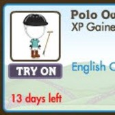 FarmVille LE English Countryside Costumes: Cricket and Polo Outfits