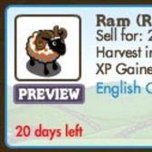 Two FarmVille Sheep patterns illegal no more: Chameleon Ewe, Rainbow Ram