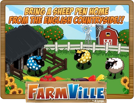 FarmVille Sheep Pen coming home