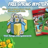 Redeem a FarmVille Game Card, score a free Spring Mystery Box