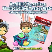 Redeem FrontierVille Game Card, receive free Easter Mystery Crate